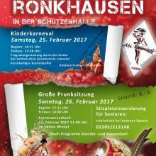 Karneval 2017 in Rönk`sen