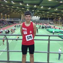 Erfolgreiches Hallensportfest in Dortmund für Marius Fiebig